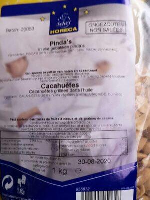 Cacahuète non salée