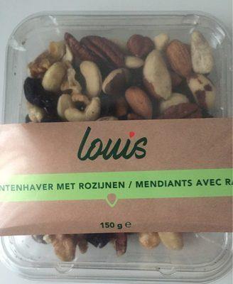 Mendiants avec raisins