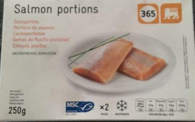 Portions de saumon