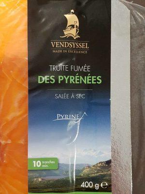 Truite fumée des Pyrénées