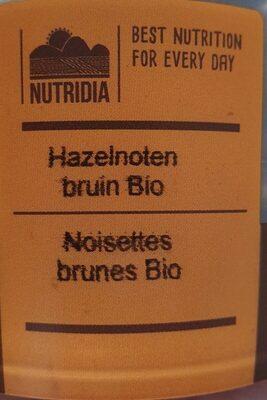 Hazelnoten Bruin Bio