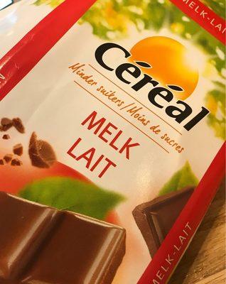 Céréal Tablette De Chocolat Au Lait