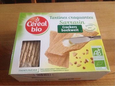Tartines Craquantes Sarrasin