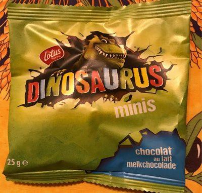 Dinosaurus minis au chocolat au lait