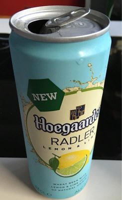 Biere Hoegaarden Lemon and lime