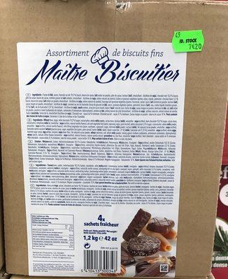 Assortiment de biscuits fins