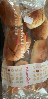 Sandwich mini au beurre