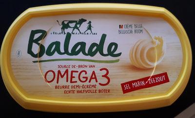 Beurre Balade Omega 3 Sel Marin