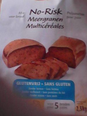 Mix pour pain no-risk multicereales