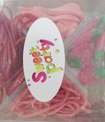 mélange de bonbons goût fraise