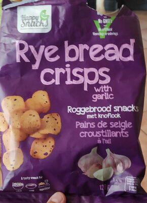 Rye bread crisps