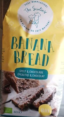 Banana bread - Epautre & chocolat