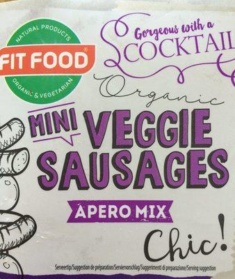 Mini veggie sausages
