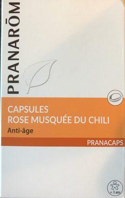 Capsules Rose musquée du Chili