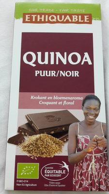 Chocolat noir quinoa
