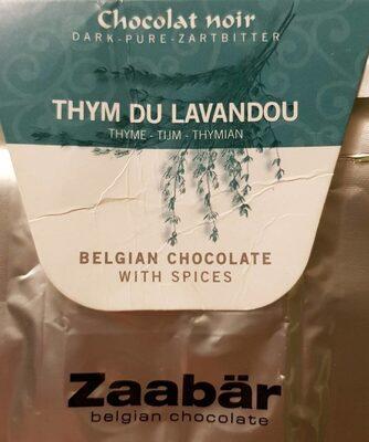 Chocolate noir thym du lavandou