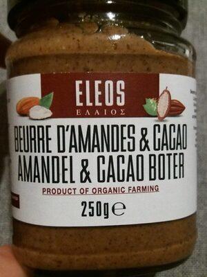 Beurre d'amande & cacao