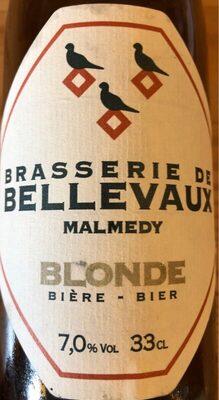 Brasserie de Bellevaux Blonde