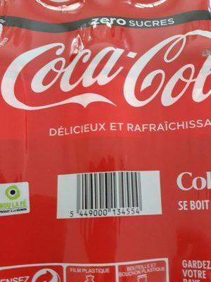 Coca-cola Zero 4X6X50 CL, 24 Bouteilles