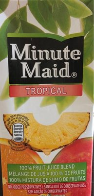 Minute Maid Minute Maid Tropical Fruit Carton
