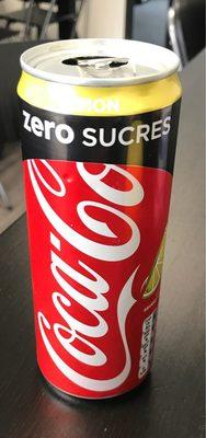 Coca Cola Zero Lemon CL33 Latt