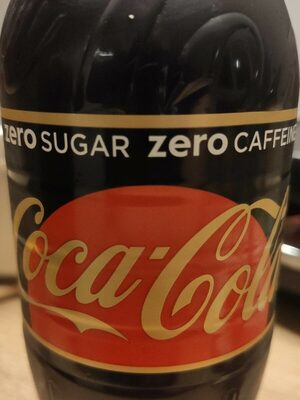 Coca-Cola Zéro Sugar Zéro Caffeine