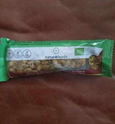 Organic pumpkin seeds bar