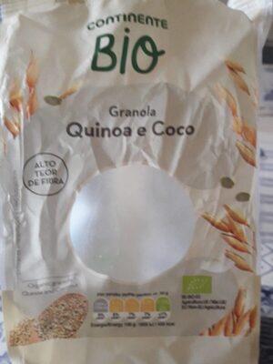 Quinoa e coco