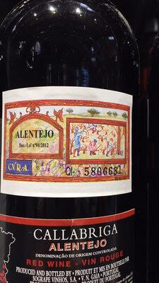 Sogrape Vinhos Callabriga Alentejo Vin Rouge 2013