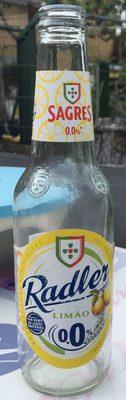 Cerveja Sagres Radler 0% 0,33LT (6X4)