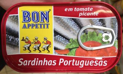 Sardinhas Portuguesas em tomate picante