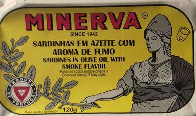 Sardines à l'huile d'olive goût fumé