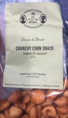 Crunchy corn snack