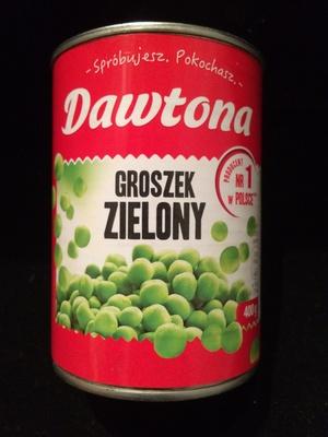 Groszek zielony konserwowy
