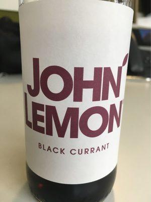 John Lemon Black Currant