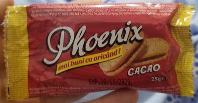 Phoenix Biscuiti cu crema cacao