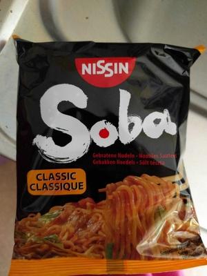 Soba classique nouilles sautées chinoises