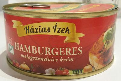 Hamburgeres melegszendvics krém