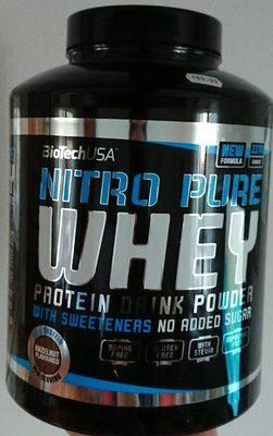 Nitro Pure Whey Hazelnut