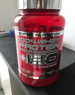 100% whey proteines+ISO