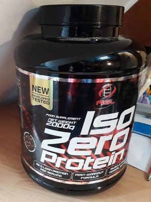 Iso zéro protéines