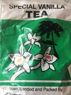 Special vanilla tea
