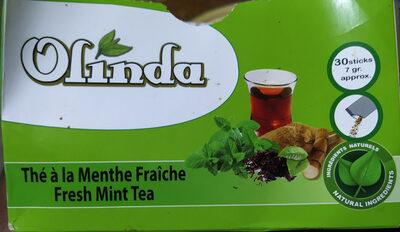 Thé à la menthe fraiche