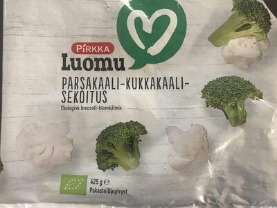 Luomu parsakaali-kukkakaali-sekoitus