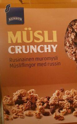 Müsli crunchy