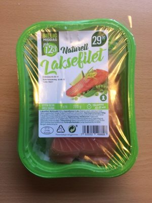 Naturell Laksefilet