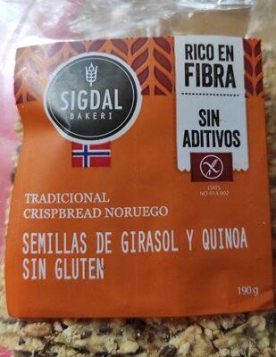 Tradicional crispbread noruego