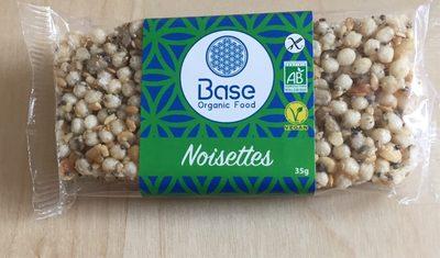 Barre Vegan Noisettes
