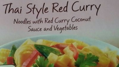Thaï style curry rouge