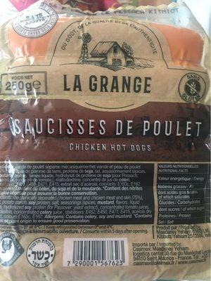 Saucisses de Poulet